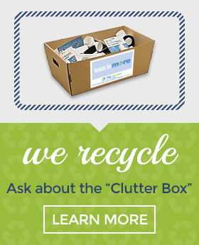 "Ask about the ""Clutter Box"""